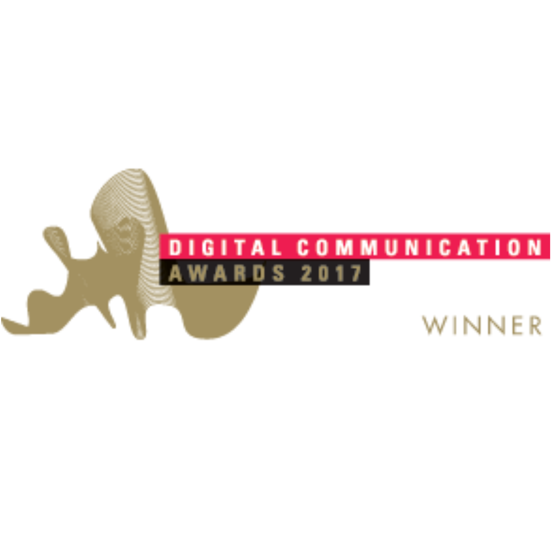 dca winner logo digital communications awards sq