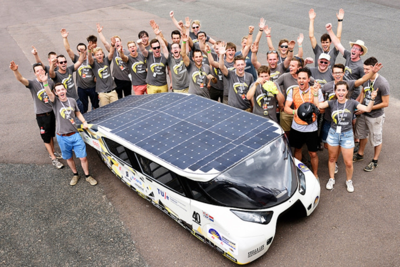 solar team einhoven with stella lux